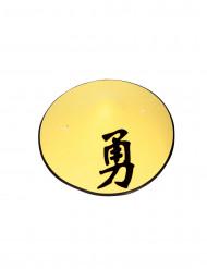 Gele Chinese hoed
