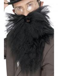 Lange zwarte baard