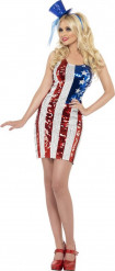 Amerikaans kostuum voor dames