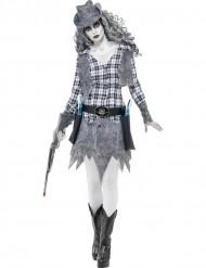 Spook Cowgirl kostuum voor dames Halloween pak