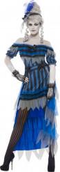 Spookdanseres kostuum van Halloween voor dames