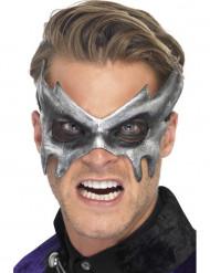 Spook masker in het grijs voor volwassenen