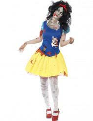 Zombie Sneeuwwitje kostuum voor dames