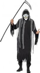 Magere Hein skelet kostuum voor volwassenen Halloween pak