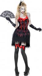 Burleske sexy zombie Kostuum voor dames