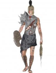 Gladiator Zombie Halloween kostuum voor heren