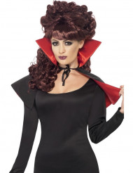 Mini halloween vampieren cape voor dames