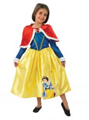 Sneeuwwitje™ winterprinses kostuum met cape voor meisjes