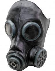 Zwarte gasmasker