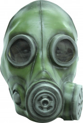 Groen gasmasker