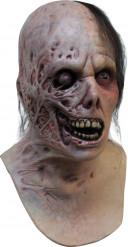 Verbrandde zombie masker voor Halloween