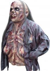 Zombie masker en bovenlichaam voor dames