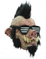 Punk wild zwijn masker voor volwassen