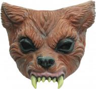 Weerwolf Halfmasker voor Halloween