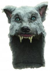 Grijze wolf masker