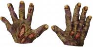 Enge zombie handschoenen voor volwassenen