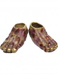 Roze zombie voeten
