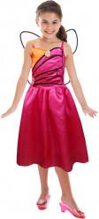 Roze Barbie™ Mariposa outfit voor meisjes