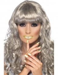 Fosforescerende lippenstift en nagellak
