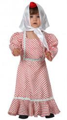 Madrileen kostuum voor baby's