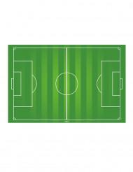Eetbare voetbalveld taartdecoratie