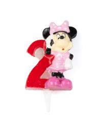 Minnie™ kaarsje cijfer 2