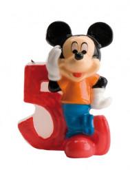 Mickey™ verjaardagskaars 5 jaar