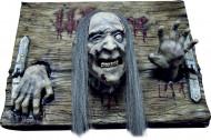 Welkom zombie decoratie plaat voor Halloween