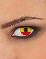 Spaanse vlag contactlenzen