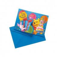 Set Winnie Birthday™ uitnodigingen en enveloppen