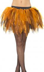 Zwarte en oranje tutu