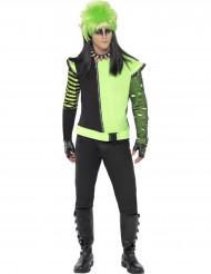 Gotische groene elfen jas voor mannen