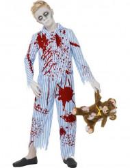 Zombie pyjama voor jongens Halloween verkleedkleding