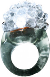 Magische ring met LED wit