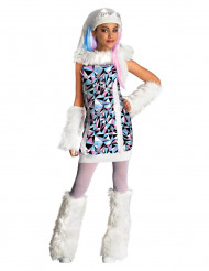 Abbey Bominable Monster High™ kostuum voor meisjes