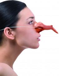 Heksen neus voor volwassenen Halloween accessoire