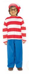 Waar is Wally? ™ kostuum voor kinderen