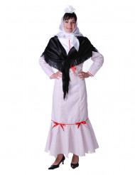 Traditioneel Spaanse dame kostuum voor vrouwen