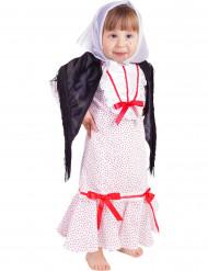 Madrileens kostuum voor baby
