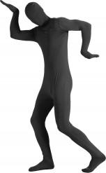 Zwart second skin kostuum