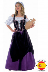 Middeleeuwse feestkleding voor dames