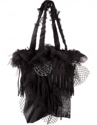 Zwarte spinnen Halloween tas