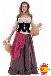 Middeleeuws feestkleding voor dames