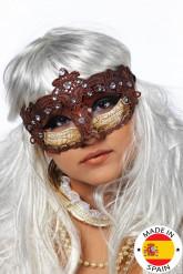 Bruin masker voor volwassenen