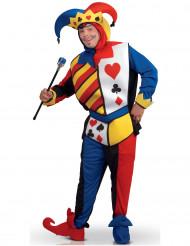 Joker spelkaart kostuum voor volwassenen