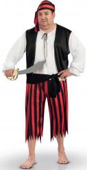 Piraten kostuum voor heren + size