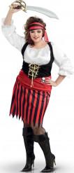 Piraten outfit voor vrouwen + size