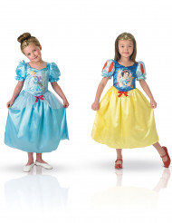 Omkeerbare prinsessen outfit van Sneeuwwitje™ en Assepoester™
