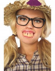 Grote tanden kunstgebit