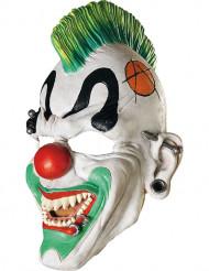 Clown punk masker voor volwassenen